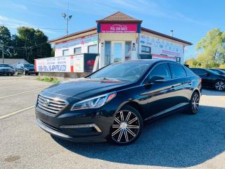 Used 2016 Hyundai Sonata LEATHER|SUNROOF|ALLOYS|PWRSEATS|CERTIFIED AND MORE for sale in Guelph, ON