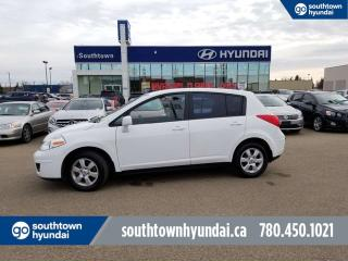 Used 2009 Nissan Versa SL/POWER OPTIONS/CRUISE CONTROL/AC for sale in Edmonton, AB