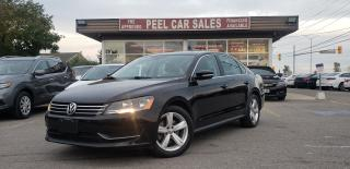 Used 2015 Volkswagen Passat SE 6A|CERTIFIED| BLUETOOTH|BACKUP CAMERA|SUNROOF|HEATED MIRRORS|HEATED LEATHER SEATS|POWER SEATS for sale in Mississauga, ON