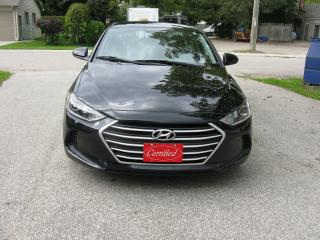 Used 2017 Hyundai Elantra CLOTH for sale in Ailsa Craig, ON
