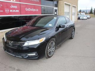 Used 2016 Honda Accord Coupe Touring / Sunroof / GPS Navigation for sale in Edmonton, AB