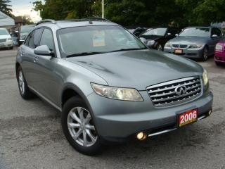 Used 2006 Infiniti FX35 Premium/Rearview Camera for sale in Ajax, ON