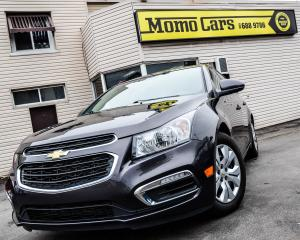 Used 2015 Chevrolet Cruze LT! BLUETOOTH! BACK UP CAM! COMES WITH WINTERS! for sale in St. Catharines, ON