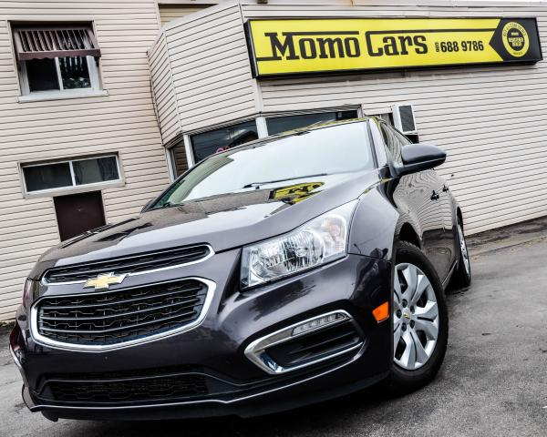 2015 Chevrolet Cruze LT! BLUETOOTH! BACK UP CAM! COMES WITH WINTERS!