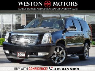 Used 2008 Cadillac Escalade AWD*SUNROOF*LEATHER*DVD*REVERSE CAMERA!!*RARE!!* for sale in Toronto, ON
