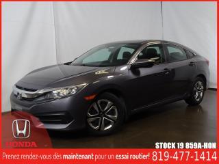 Used 2016 Honda Civic LX+CAMÉRA+SIEGCHAUFF+REGVIT+BLUETOOTH for sale in Drummondville, QC