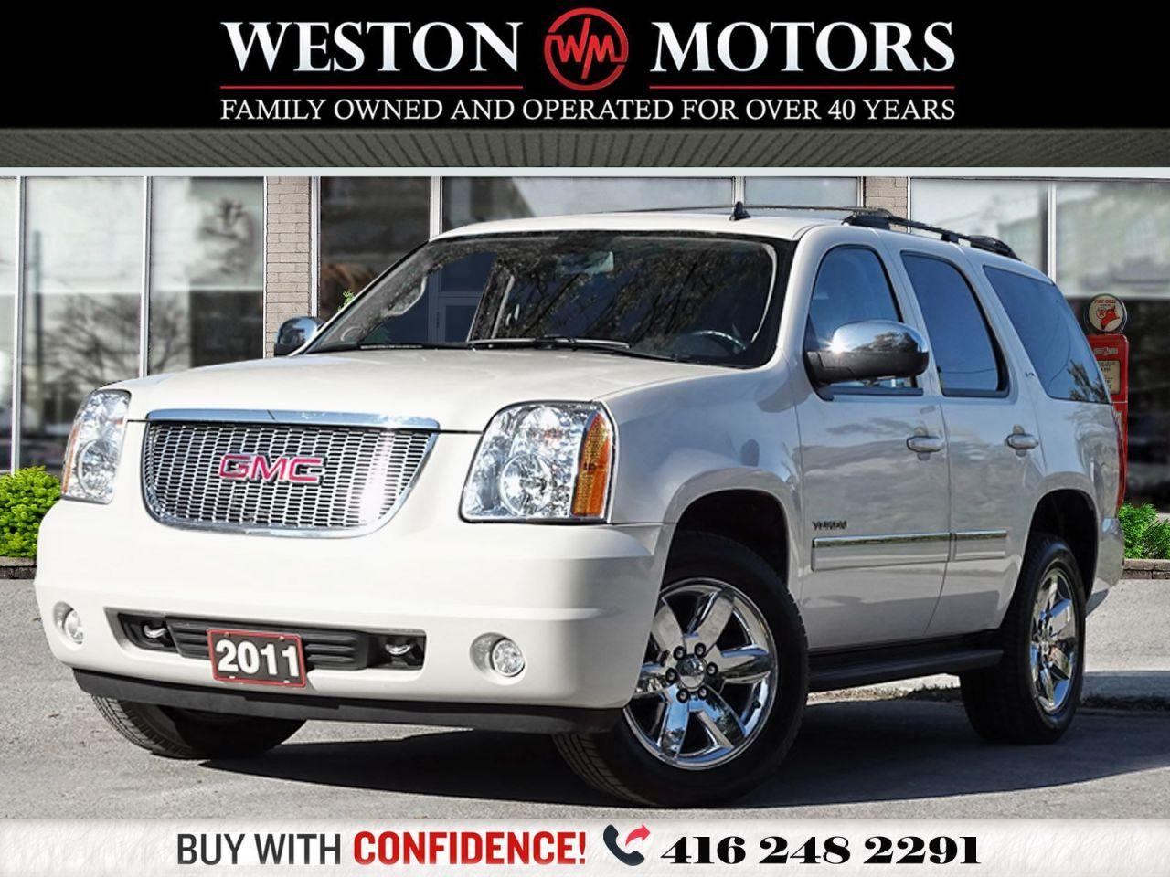 2011 GMC Yukon 4WD*LEATHER*SUNROOF*7PASS*NAVI*REVERSE CAMERA!!*