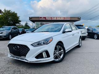 Used 2018 Hyundai Sonata SPORT|ALLOYS|REARVIEW|SUNROOF|LEATHER|CERTIFIED! for sale in Mississauga, ON