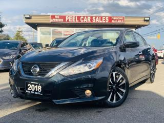 Used 2018 Nissan Altima 2.5|BACKUP CAMERA|BLUETOOTH|SUNROOF|POWER SEATS|HEATED SEATS|CERTIFIED for sale in Mississauga, ON