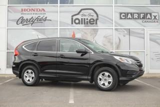 Used 2015 Honda CR-V LX ***GARANTIE 10 ANS/200 000 KM*** for sale in Québec, QC