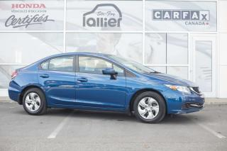 Used 2015 Honda Civic LX ***GARANTIE 10 ANS/200 000 KM*** for sale in Québec, QC
