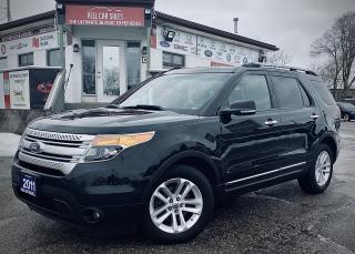 Used 2011 Ford Explorer XLT FWD|CERTIFIED BLUETOOTH|BACKUP CAMERA|HEATED LEATHER SEATS |POWER SEATS|POWER TRUNK|BLIND SPOT. for sale in Guelph, ON