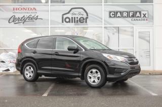 Used 2016 Honda CR-V LX ***GARANTIE 10 ANS/200 000 KM*** for sale in Québec, QC