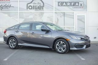 Used 2016 Honda Civic LX ***GARANTIE GLOBALE JUSQU'EN MAI 2020 for sale in Québec, QC