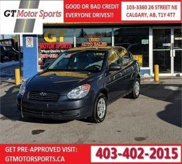 Used 2010 Hyundai Accent GL for sale in Calgary, AB