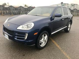 Used 2009 Porsche Cayenne AWD TIPTRONIC for sale in Mississauga, ON