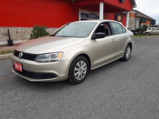 Used 2013 Volkswagen Jetta TRENDLINE+ for sale in Cornwall, ON