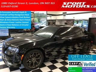 Used 2018 Chrysler 300 300S+Pano Roof+Apple Play+GPS+Camera+Remote Start for sale in London, ON