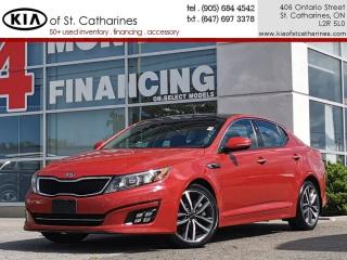 Used 2014 Kia Optima SX Turbo | Navigation | Leather | Blindspot Alert for sale in St Catharines, ON