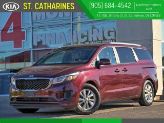 Used 2017 Kia Sedona LX | 8 Seater | Parking Sensor | Cruise | Alloy for sale in St Catharines, ON