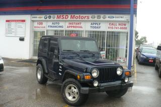 Used 2000 Jeep TJ Sport for sale in Toronto, ON