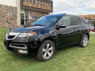 Used 2013 Acura MDX SH-AWD.TECHNOLOGY PKG.NAVI.TV-DVD.BLIS.BLUETOOTH.7 PASS. for sale in North York, ON