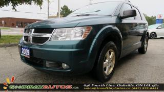 Used 2009 Dodge Journey SE |NO ACCIDENT|ALLOYS|HEATED MIRRORS|AC|CERTIFIED for sale in Oakville, ON