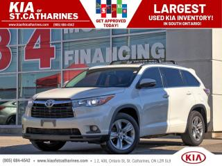 Used 2015 Toyota Highlander Limited AWD | Cooled Seat | NAVI | Leather for sale in St Catharines, ON