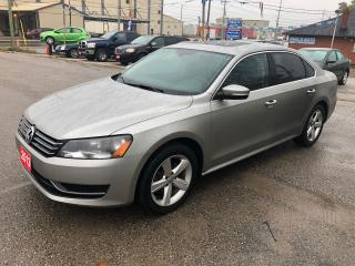 Used 2013 Volkswagen Passat COMFORTLINE for sale in Bradford, ON