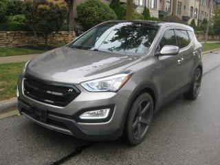 Used 2013 Hyundai Santa Fe AWD, CERTIFIED, LEATHER, CAM, 20INCH RIMS for sale in Toronto, ON