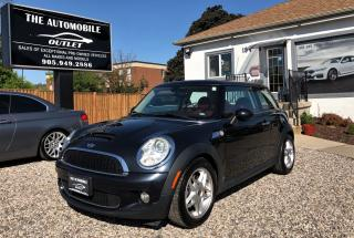 Used 2009 MINI Cooper S S MANUAL LEATHER PANO ROOF NO ACCIDENT for sale in Mississauga, ON