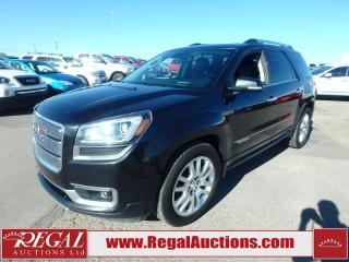 Used 2015 GMC Acadia Denali 4D Utility AWD 3.6L for sale in Calgary, AB