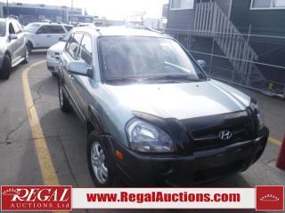 Used 2007 Hyundai TUCSON GL 4D UTILITY FWD for sale in Calgary, AB