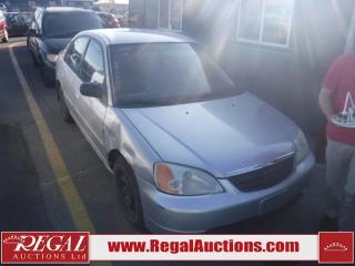 Used 2002 Honda Civic 4D Sedan for sale in Calgary, AB