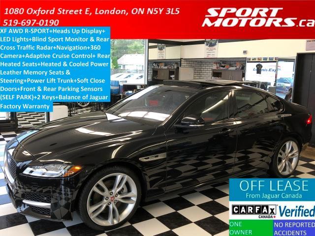 2016 Jaguar XF R-Sport+Adaptive Cruise+360 Camera+GPS+LED Lights