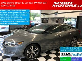 Used 2016 Nissan Maxima SV+GPS+Camera+Bluetooth+Park Sensors+Remote Start for sale in London, ON