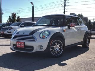 Used 2013 MINI Cooper Cooper, excellent price and low mileage for sale in Toronto, ON