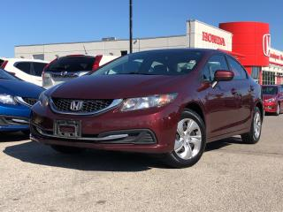 Used 2014 Honda Civic LX, great price for sale in Toronto, ON