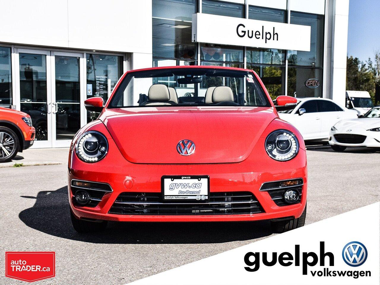 Guelph Auto Mall >> Used 2018 Volkswagen Beetle Conv Coast For Sale In Guelph