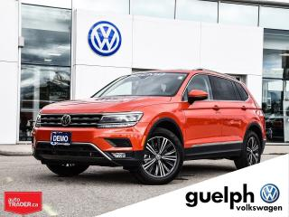 Used 2018 Volkswagen Tiguan 4Motion for sale in Guelph, ON