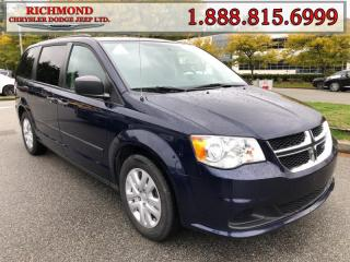 Used 2015 Dodge Grand Caravan SE/SXT for sale in Richmond, BC
