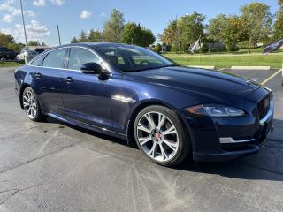 Used 2017 Jaguar XJ 4dr Sdn R-Line AWD PANO NAV Low KMS for sale in St. George Brant, ON