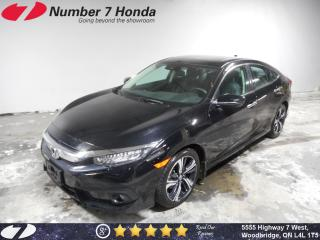 Used 2017 Honda Civic Touring| Loaded Options| Auto-Start| Navi for sale in Woodbridge, ON