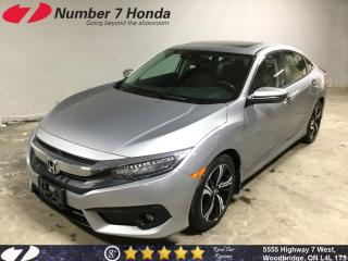 Used 2017 Honda Civic Touring| Loaded Options| Auto-Start| Navi| for sale in Woodbridge, ON