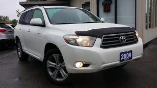 Used 2009 Toyota Highlander Sport 4WD - LEATHER! BACK-UP CAM! 7 PASS! for sale in Kitchener, ON