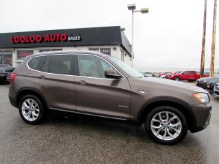 Used 2012 BMW X3 xDrive28i Panoramic Sunroof CERTIFIED for sale in Milton, ON