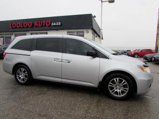 Used 2012 Honda Odyssey EX-L Sliding Doors 8 PSNGR REAR DVD Certified for sale in Milton, ON