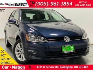 Used 2016 Volkswagen Golf 1.8 TSI Highline| LEATHER| SUNROOF| NAVI| for sale in Burlington, ON