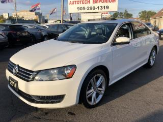 Used 2014 Volkswagen Passat TSI Comfortline Leather/Heated Seats/Bluetooth&GPS* for sale in Mississauga, ON
