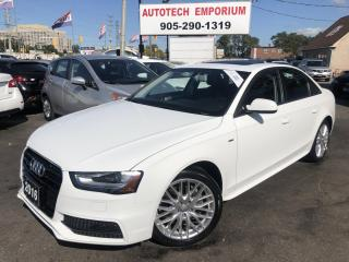 Used 2016 Audi A4 Quattro 2.0T Komfort Plus Leather/Sunroof/Bluetooth for sale in Mississauga, ON